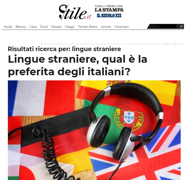 Lingue straniere, qual è la preferita degli italiani?